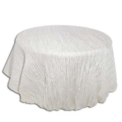 White Crinkle I Do linens_1Square