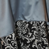 01 Black and White Damask