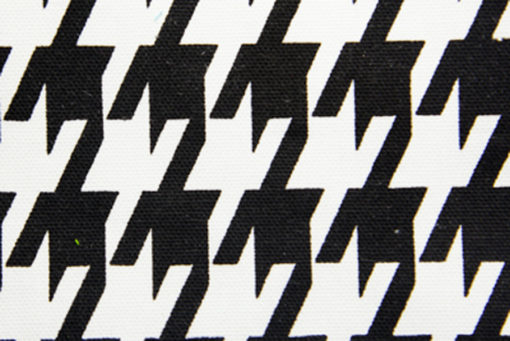 01 Black and White Houndstooth