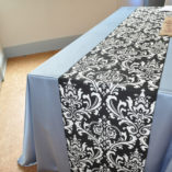 06 Black and White Damask