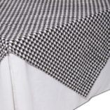 06 Black and White Houndstooth