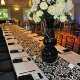 07 Black and White Damask