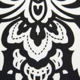 08 Black and White Damask