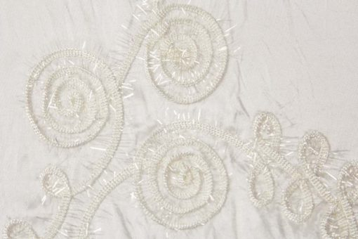 Ivory Swirl I Do Linens