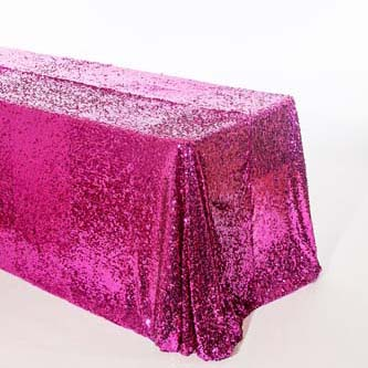 01 Fuchsia Teardrop Sequin square