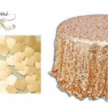 07 Gold Square Sequin