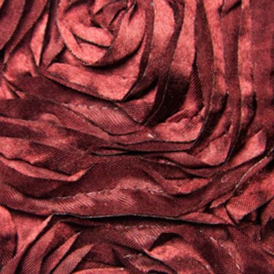 27 merlot ribbon rose