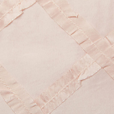 pink criss cross i do linens