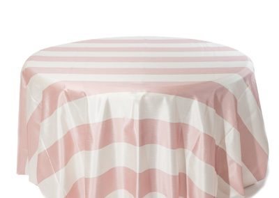 Blush Broadway Stripe I Do Linens (2)