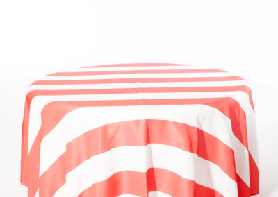 Coral Broadway Stripe I Do Linens (3)
