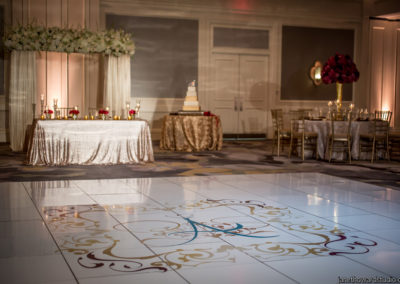 I Do Linens Dance Floor Wrap 7