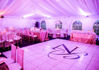 I Do Linens Dance Floor Wrap 6