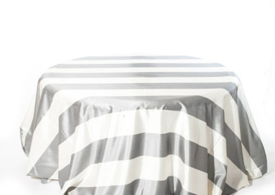 Grey Broadway Stripe_I Do Linens