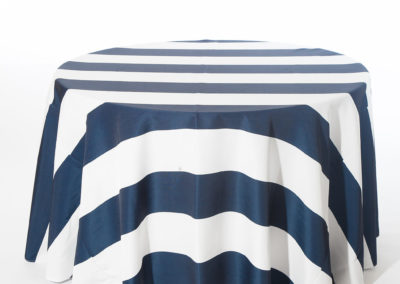 Navy Broadway Stripe_I Do Linens
